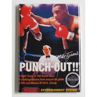 Mike Tyson's Punch-out FRIDGE MAGNET nes box cover retro 90s nintendo magnet H6