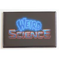 Weird Science movie poster FRIDGE MAGNET retro logo refrigerator Scifi magnet N4