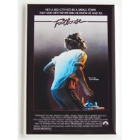 Footloose movie poster FRIDGE MAGNET retro 80s dancing Kevin Bacon dance mag N7
