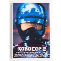 Robocop 2 movie poster FRIDGE MAGNET retro 90s police film robot cop P6