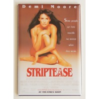 Striptease movie poster FRIDGE MAGNET retro 90s Demi Moore strip tease  P8