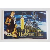 House on Haunted Hill movie poster FRIDGE MAGNET skeleton scary horror film R2