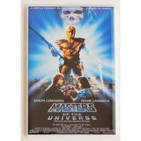Heman Masters of the Universe movie poster FRIDGE MAGNET retro 80 MOTU He man R7