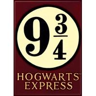 Harry Potter Hogwarts Express FRIDGE MAGNET 9 3/4 three quarter wizard school H15
