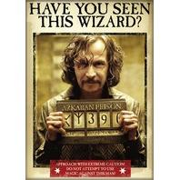 Harry Potter have you seen this wizard FRIDGE MAGNET Sirius Black Azkaban i16
