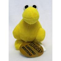 Limited Edition Yellow Nerds Plush Key Chain Stuff Animal Willy Wonka Candy Nerd