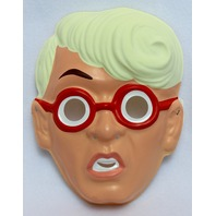 Vintage The Real Ghostbusters Egon Ben Cooper New York Halloween Mask 80s Y150