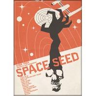 Star Trek Space Seed FRIDGE MAGNET Captain Kirk Spock Enterprise Kitchen L17