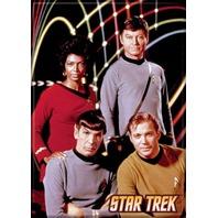 Star Trek Portrait FRIDGE MAGNET Captain Kirk Spock Enterprise Doctor Mccoy H17