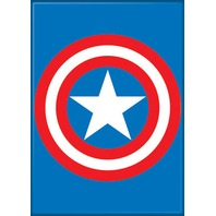 Captain America Shield Logo FRIDGE MAGNET Comic Books Avengers Marvel A26