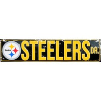 Pittsburgh Steelers Drive Tin Metal Street Sign NFL Football Team Steeler G82
