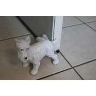 Cast Iron Scottish Terrier Scotty Door Stop Vintage Style Home Office Decor