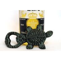 Cast Iron Turtle Bottle Opener Pop Top Kitchen Garage Beer Sea Tortoise Decor