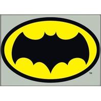 Batman Classic Gray & Yellow Logo FRIDGE MAGNET DC Comics Vintage Style P20