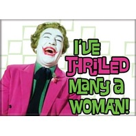 The Joker I've Thrilled Many a Woman FRIDGE MAGNET DC Comics Batman B32