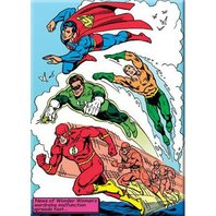 DC Comics Wonder Woman Wardrobe Malfunction FRIDGE MAGNET  Flash Green Lantern Superman Aquaman