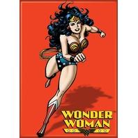 DC Comics Wonder Woman Red FRIDGE MAGNET Justice League Superman K16
