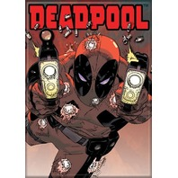 Marvel Comics Deadpool FRIDGE MAGNET Avengers Comic Books J20