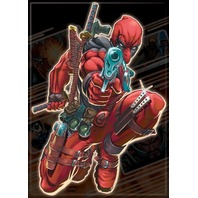 Marvel Comics Deadpool  FRIDGE MAGNET Comic Books Book Dead Pool Superhero i14