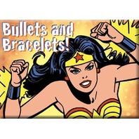 Bullets And Bracelets Wonder Woman FRIDGE MAGNET DC Comics Justice League F24