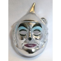 Vintage Wizard of Oz The Tin Man Halloween Mask Movie Hollywood Y095