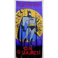 Vintage Batman Door Defender Door Banner Comic book super hero doorway curtain