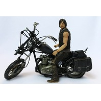 McFarlane The Walking Dead Daryl Dixon + Motorcycle Chopper Action Figure SET
