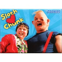 Sloth Love Chunk The Goonies FRIDGE MAGNET Funny Movie Poster 1980's 80's ATAM