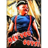 The Goonies Hey You Guys Sloth FRIDGE MAGNET Funny Movie Posters 1980s 80s Retro