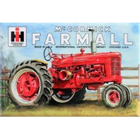 McCormick Farmall Tractor FRIDGE MAGNET International Harvester IH Farm Barn DES
