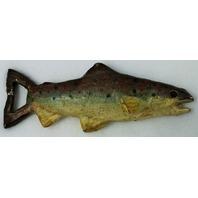 Cast Iron Salmon Fish Bottle Opener Fishing Camping Cabin Decor Beer Cap
