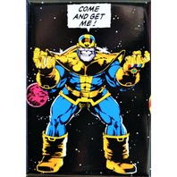 Thanos Come and Get Me FRIDGE MAGNET Avengers Marvel Comics Comic Book Ultron ATAM
