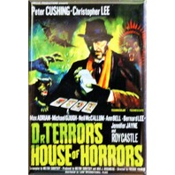 Dr Terrors House of Horrors Movie Poster FRIDGE MAGNET Christopher Lee Scary Movie