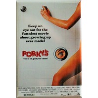 Porkys FRIDGE MAGNET Cult Classic Comedy Funny Movie 80's Vintage Style