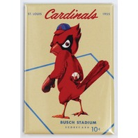 St Louis Cardinals Busch Stadium FRIDGE MAGNET Vintage Retro Logo MLB Baseball