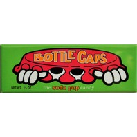 Bottle Caps The Soda Pop Candy FRIDGE MAGNET Classic Advertisement  AD Vintage Retro Style 1980's 1990s