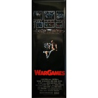 War Games Movie Poster FRIDGE MAGNET Sci Fi Vintage Style Ad 1980's LC1