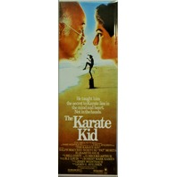 The Karate Kid Movie Poster FRIDGE MAGNET Cult Classic Vintage Style Ad 1980's