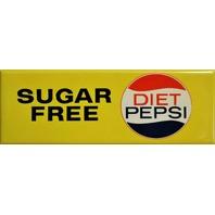 Sugar Free Diet Pepsi FRIDGE MAGNET Classic Soad Pop Cola Vintage Style Ad 1980's