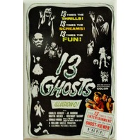 13 Ghosts Movie Poster FRIDGE MAGNET Horror Classic Scary Movie H3