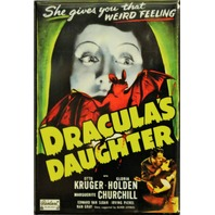 Draculas Daughter Movie Poster FRIDGE MAGNET Vampire Cult Classic Horror Film o3