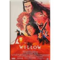 Willow Movie Poster FRIDGE MAGNET Lucas Fantasy Film 1980's Cult Classic