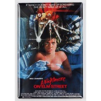 Wes Craven A Nightmare on Elm Street Movie Poster FRIDGE MAGNET Freddy Krueger Horror Film