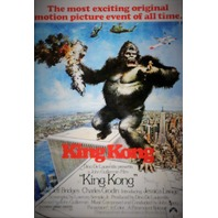 King Kong 1976 Movie Poster FRIDGE MAGNET Monster Twin Towers NYC New York City