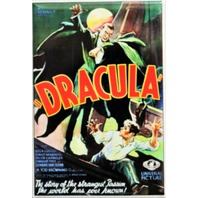 Dracula Movie Poster FRIDGE MAGNET Universal Monster Vampire i6