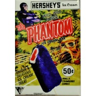 Hersheys Phantom Ice Cream Bar FRIDGE MAGNET Comic Strip Comic Book L4