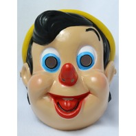 Vintage Walt Disney Pinocchio Halloween Mask 1994 Collectible Rare Cesar