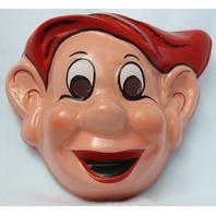 Vintage Walt Disney Snow White and the Seven Dwarfs  Dopey Halloween Mask