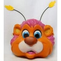 Vintage Walt Disney The Wuzzles Halloween Mask CeSar Costumes Bumblelion