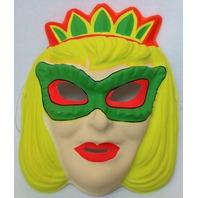 Vintage queen Masque Halloween Mask Tiara Domino mask
